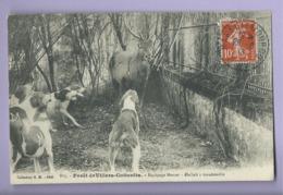 CPA - Forêt De Villers Cotterêts - Equiagpe Menier - Hallali à Gondreville  -( Chasse à Courre ) - Villers Cotterets