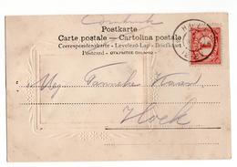 Hoek Grootrond - 1905 - Poststempel