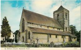 Haywards Heath - St. Wilfrid' S Church - H.3303 - 1985 - United Kingdom - England - Used - Autres