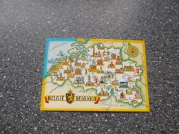 ROESELARE, VEURNE, IEPER, KORTRIJK, OUDENAARDE, AALST, MONS, BINCHE, DINANT, HUY, MALMEDY, LEUVEN, WATERLOO: Groeten - Belgique