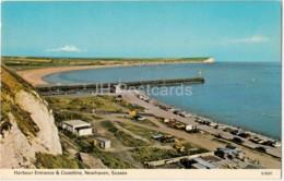 Newhaven - Harbour Entrance & Coastline - Sussex - 1985 - United Kingdom - England - Used - Autres