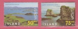 1999 ** Islande  (sans Charn., MNH, Postfrish)   Yv  866/7Mi  913/4 - Nuevos
