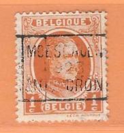 COB 193  Moescroen 1923 Mouscron   Orientation C   (used) - Vorfrankiert