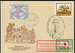 AUSTRALIA, 1993 CAMEL MAIL REENACTMENT COVERS 3 - 1990-99 Elizabeth II