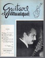 Revue Musique  Guitare Et Musique  N° 35 - 1962  Georges Brassens - Musique