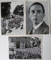 Lot 6x  Photo Photo 17x12 Cm Sammelwerk  5x  Nr 8   1xno 15 Adolf Hitler - Histoire
