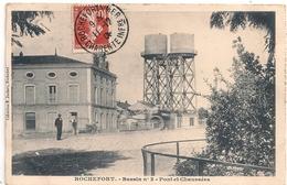 Cpa 17 Rochefort Pont & Chaussées Bassin No 3 - Rochefort