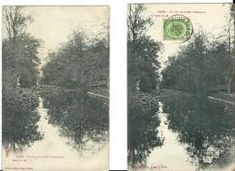 S48 Gent Gand Sugg Serie 1 Nr 48 Un Coin Du Jardin Zoologique 2 Kaarten  2 Drukverschillen 4 Scans - Gent
