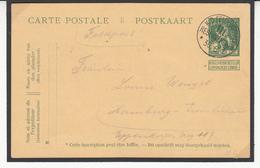 Carte Guerre  1914/18    Sur    Cartes 1914  Voir Cachet RESERVEKORPS De Belgique Vers L'Allemagne    2 Scan - [OC1/25] General Gov.