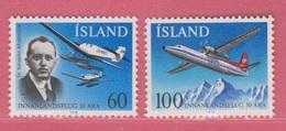 1978 **Islande  (sans Charn., MNH, Postfrish)     Yv  485/6Mi  532/3FA  569/70 - Neufs