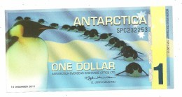 Antartica Fantasy 1 Dollar 2011 UNC - Bankbiljetten