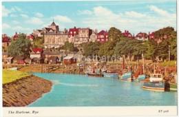 Rye - The Harbour - Boat - ET.5228 - 1985 - United Kingdom - England - Used - Rye
