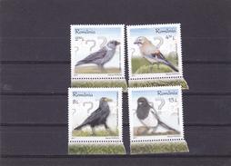 INTELLIGENT BIRDS,FULL SET, 2017 MNH,ROMANIA. - 1948-.... Repúblicas