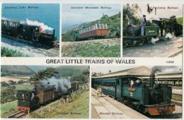 Great Little Trains Of Wales - Railway - Locomotive - United Kingdom - Wales - Unused - Autres