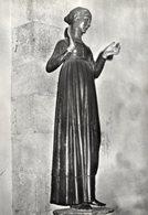 Lucca - Cartolina Antica L'ANNUNZIATA, Statua Civitalesca (legno Policromo) Sec. XV, Basilica S. Frediano - PERFETTA R22 - Religione & Esoterismo