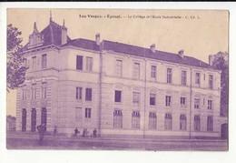 CPA France 88 - Epinal - Le Collège Et L'Ecole Industrielle -  Achat Immédiat - (cd021 ) - Epinal