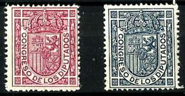 España Nº 230/31 Charnela. Cat.16,25€ - Unused Stamps
