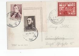 Mengfrankering Duitsland Nederland - 1941 WO II 2 - Postal History
