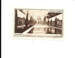 KB1181 - VIGNETTE EXPOSITION COLONIALE PARIS 1931- SCOUTISME MAROC - Autres
