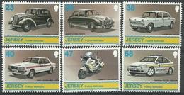 Jersey 2002 Yvertn° 1026-1031 *** MNH Cote 12,50 Euro  Voitures Autos Cars - Jersey