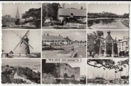 West Sussex - Chichester - Arundel - Medmenny Windmill - Old Bosham - Multiview - 1963 - United Kingdom - England - Used - Autres