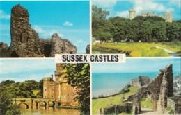 Sussex Castles - Pevensey - Arundel - Hastings - Hurstmonceux - Multiview - PLC3896 - United Kingdom - England - Unused - Autres