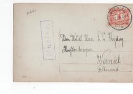 Woensel - Langebalk - 1909 - Muster Stempel ? - Postal History