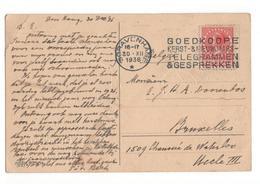 Den Haag - Goedkoope Kerst Nieuwjaars Telegrammen - 1936 - Marcophilie