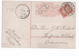 Weerselo Grootrond - 1907 - Marcophilie