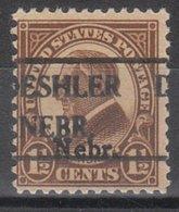 USA Precancel Vorausentwertung Preo, Locals Nebraska, Deshler 670-492, Nebr. Overprint - United States