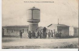 DOGNEVILLE. CPA Voyagée En 1915 Entrée Du Champ D'Aviation Au Dos Cachet Régiment D'artillerie - France