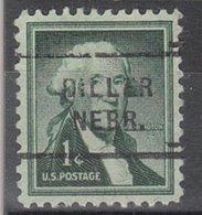 USA Precancel Vorausentwertung Preo, Locals Nebraska, Diller 712 - Vereinigte Staaten