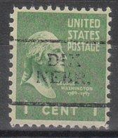 USA Precancel Vorausentwertung Preo, Locals Nebraska, Dix 701 - Vereinigte Staaten