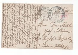 Maastricht Langebalk Wijk 1 - Expedietiekantoor Velpost 5 - 1915 - Militair Verzonden - Marcophilie
