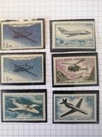 Poste Aérienne. 38.38a.39.40.41.42 - Airmail