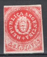 Argentina 1862 Y.T.5 */MH VF/F - Ungebraucht