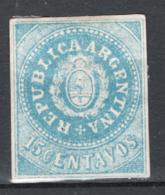 Argentina 1862 Y.T.7 */MH VF/F - Ungebraucht