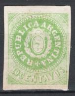 Argentina 1862 Y.T.6 (*)/MNG VF/F - Ungebraucht