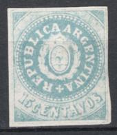 Argentina 1862 Y.T.7 (*)/MNG VF/F - Ungebraucht