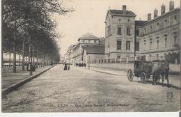LYON. CPA Voyagée Quai Claude Bernard Hôpital Saint Luc - Lyon 2