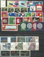 """DDR 1159-1244 """"37 Briefmarken Zu Jahrgang 1966, Dabei 10 Sätze """" Postfrisch, Tip-top Mi.-Preis 23,20 - [6] République Démocratique"""