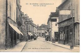 12/25       03   Bourbon-l'archambault     Rue De La Burge     (animations) - Bourbon L'Archambault