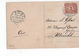 Kapelle Langebalk (Z. Bev.) - 1912 - Postal History
