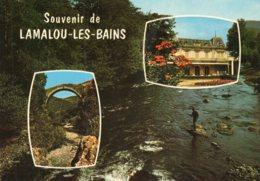 B64178 Cpm Lamalou Les Bains, Le Pont Du Diable - Lamalou Les Bains