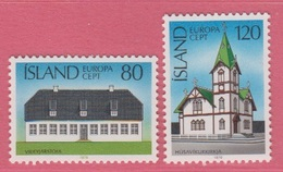 1978 **Islande  (sans Charn., MNH, Postfrish)  Yv  483/4Mi  530/1FA  567/8 - Neufs