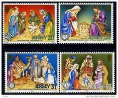 Jersey 1998 Yvertn° 861-64 *** MNH Cote 7 Euro Noel Kerstmis Christmas - Jersey
