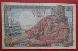 Billet De 20 FRANCS PECHEUR 1942 - 1871-1952 Antichi Franchi Circolanti Nel XX Secolo