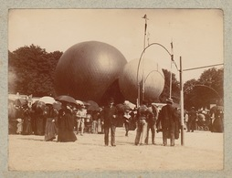 1900 Place Des Jacobins Ballon Montgolfière Marché Le Mans - Places