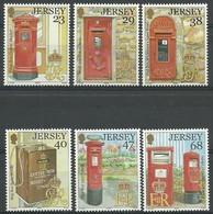 Jersey 2002 Yvertn° 1053-1058 *** MNH Cote 12,50 Euro Boîtes à Lettres Postbussen Letterbox - Jersey