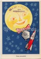 Rocket - Sun - UN1AP Petrozavodsk - QSL Card - 1959 - Russia USSR - Used - Carte QSL